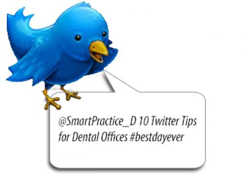 10 Twitter Tips for Dental Offices