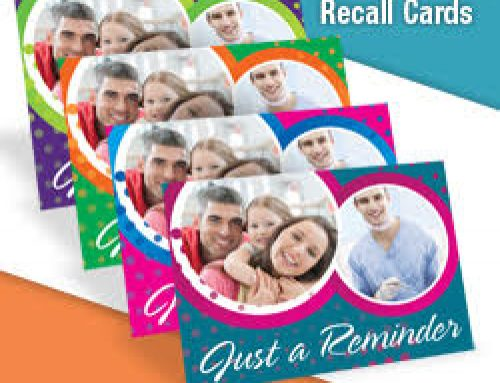 Get the Largest Selection of Dental Recall Cards