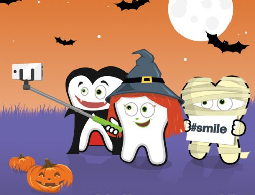 Dental Halloween Free Facebook Post Idea