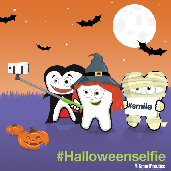 Halloween dental selfies