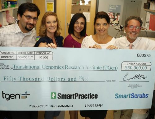 SmartPractice Donates $50,000 to TGen to Fund Groundbreaking Liquid Biopsy Research