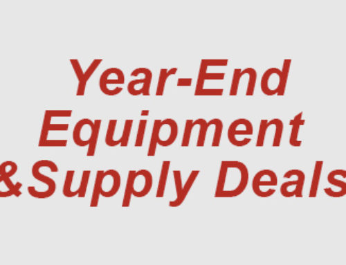 Year-End Dental Equipment Deals