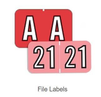 Year Labels & File Folder Labels