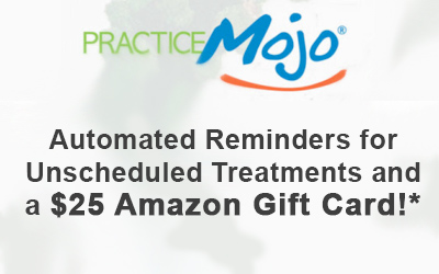 Automated reminders - schedule treatments