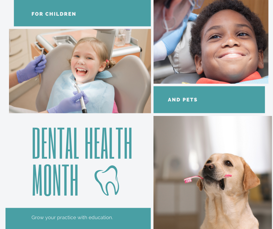Dental Health Month for Children and Pets