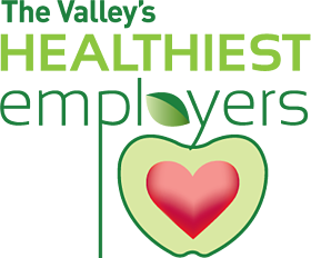 The Valley's Healthiest Employers Logo