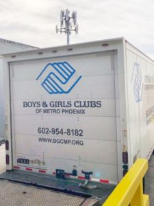 Boys & Girls Club Truck
