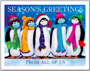 Seasonal COVID-19 Greetings