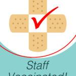 Staff vaccinated