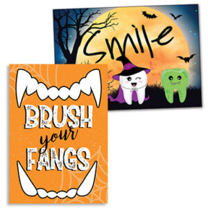 Halloween Postcards and Laser Cards