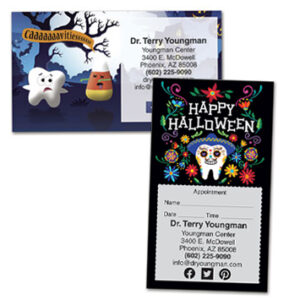Halloween Appointment Cards