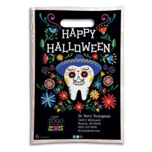 Halloween Plastic Supply Bag